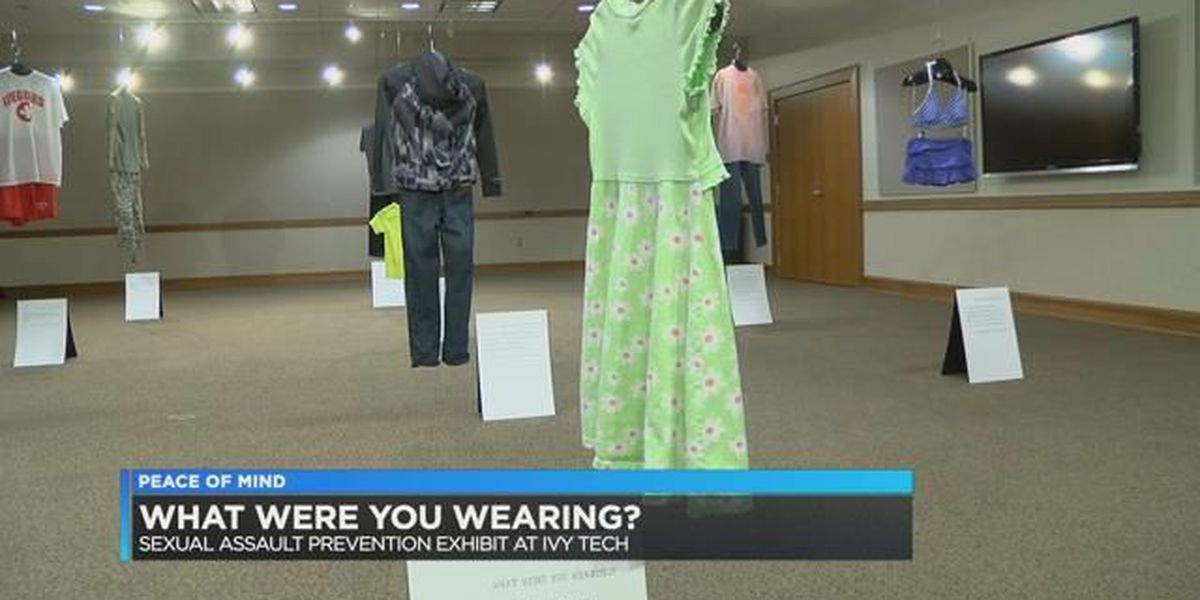 Peace of Mind: Sexual assault prevention exhibit shows how asking 'What were you wearing' blames victims
