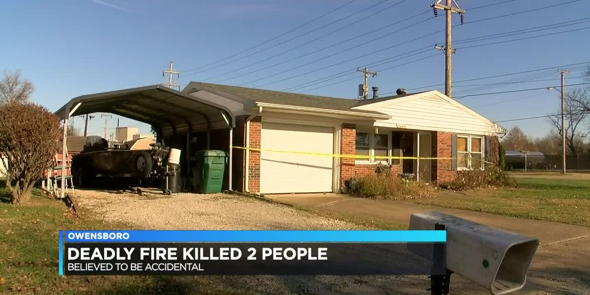 Police identify 2 people killed in Owensboro fire