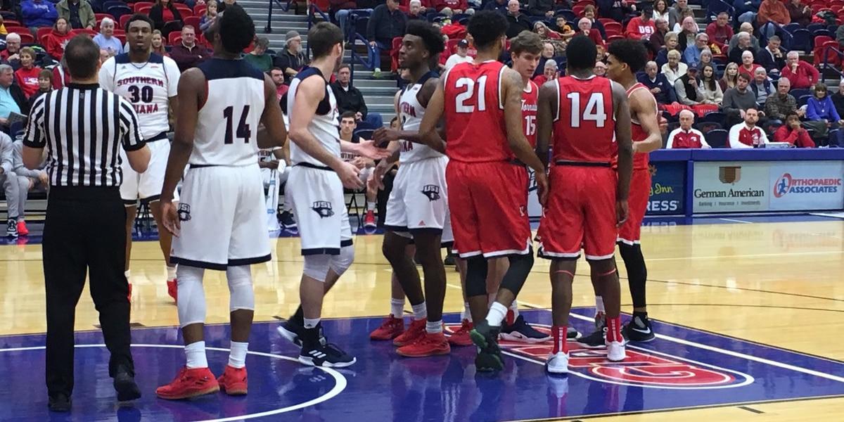 HIGHLIGHTS: King vs USI men's basketball