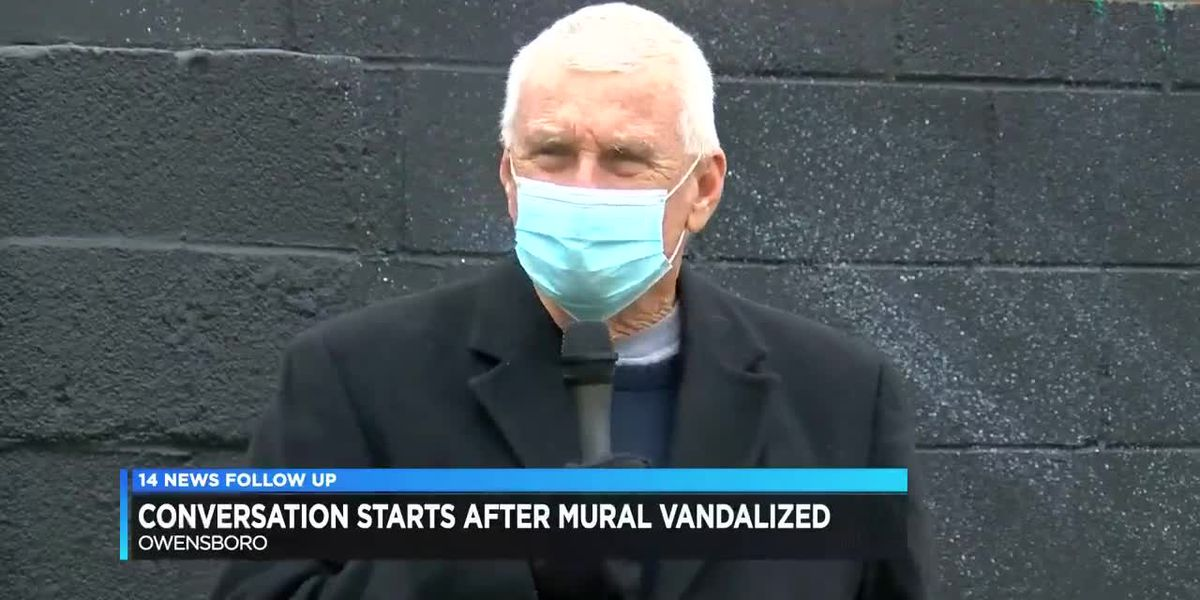 Conversation starts after mural vandalized in Owensboro