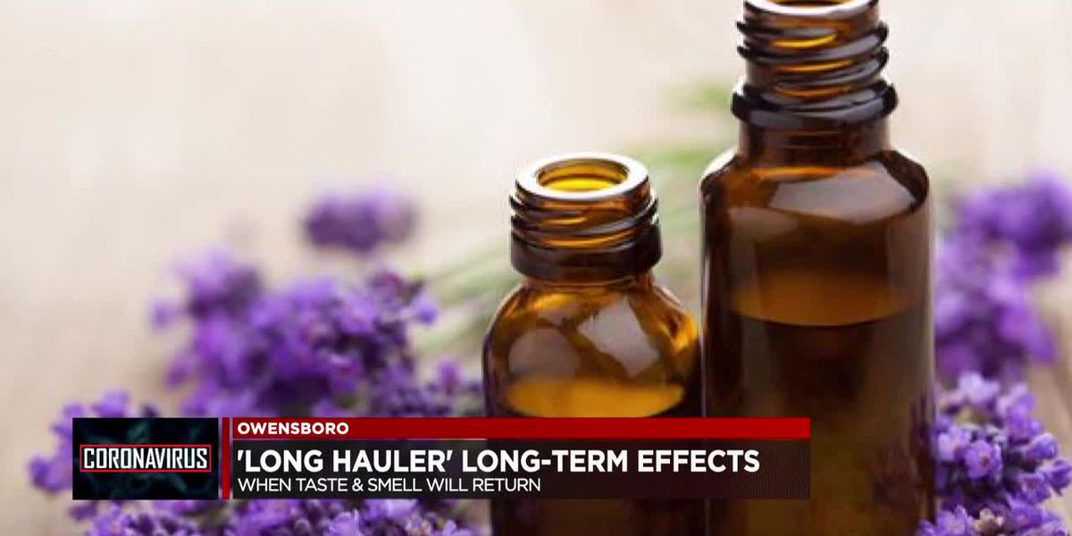 'Long hauler' long-term effects: When will taste & smell return?