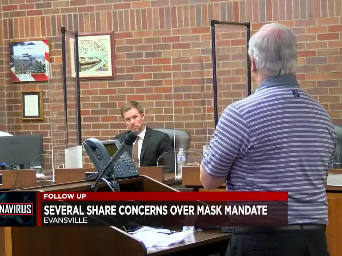 Evansville mask ordinance draws strong opposition during Monday meeting