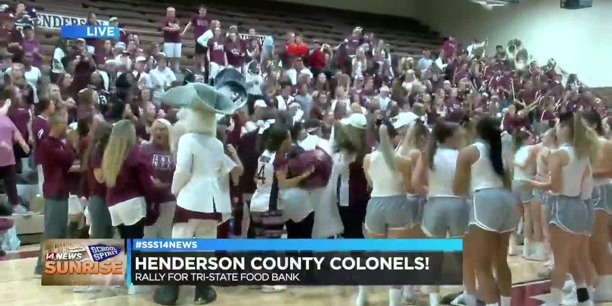 Henderson Co. Colonels showing their Sunrise School Spirit, pt. 3