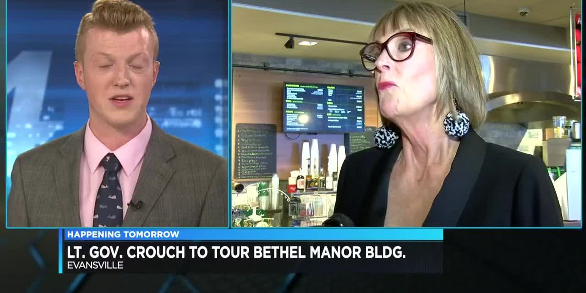 Lt. Gov. Crouch scheduled to tour Bethel Manor building on Mon.