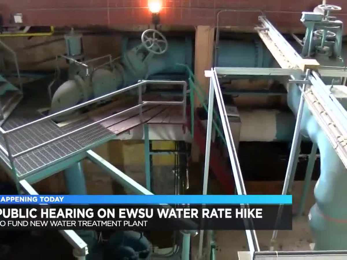 EWSU holding public hearing on possible water rate hike