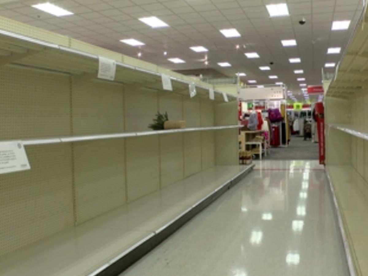 Coronavirus spike instigates new wave of panic-buying shoppers