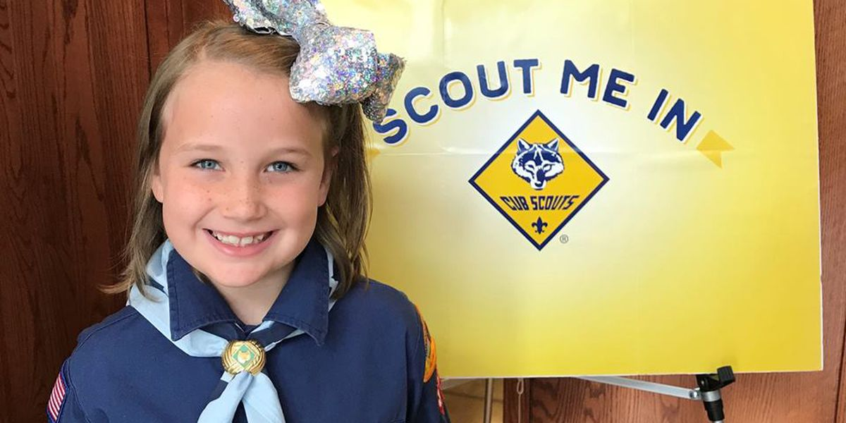First Tri-State girl joins Cub Scouts