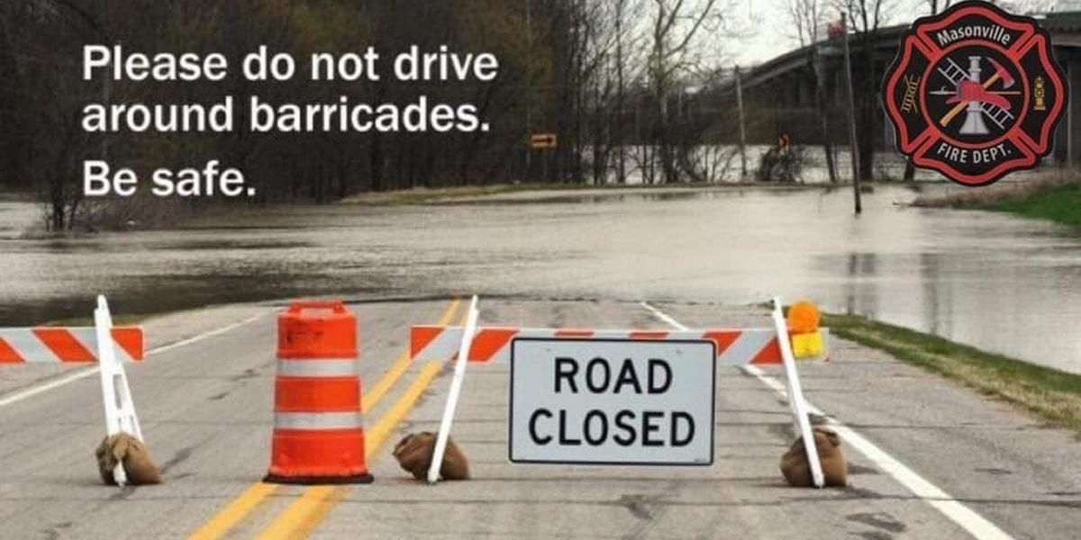 Officials ask Daviess Co. drivers to turn around when you approach a flooded road
