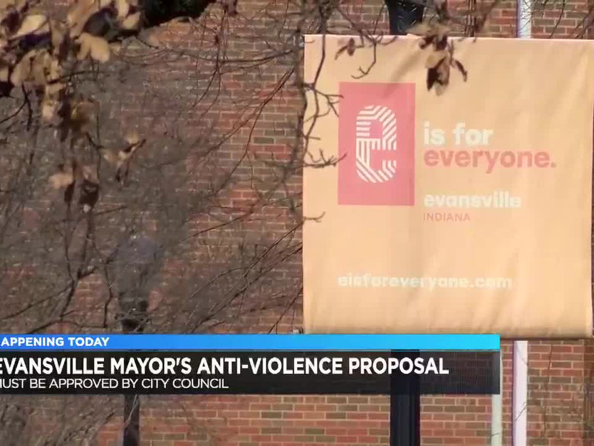 Evansville mayor set to introduce new anti-violence proposal