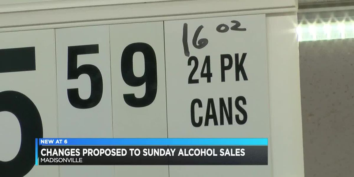 Madisonville city leaders consider making changes to Sunday alcohol sales