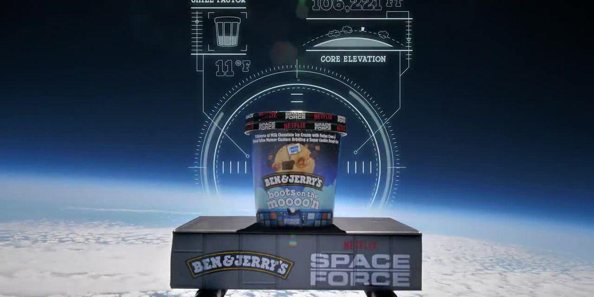 Ben & Jerry's sends new ice cream into stratosphere