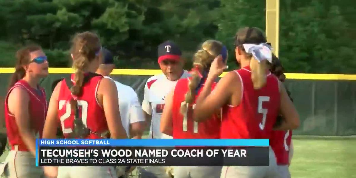 Tecumseh's softball coach named coach of the year