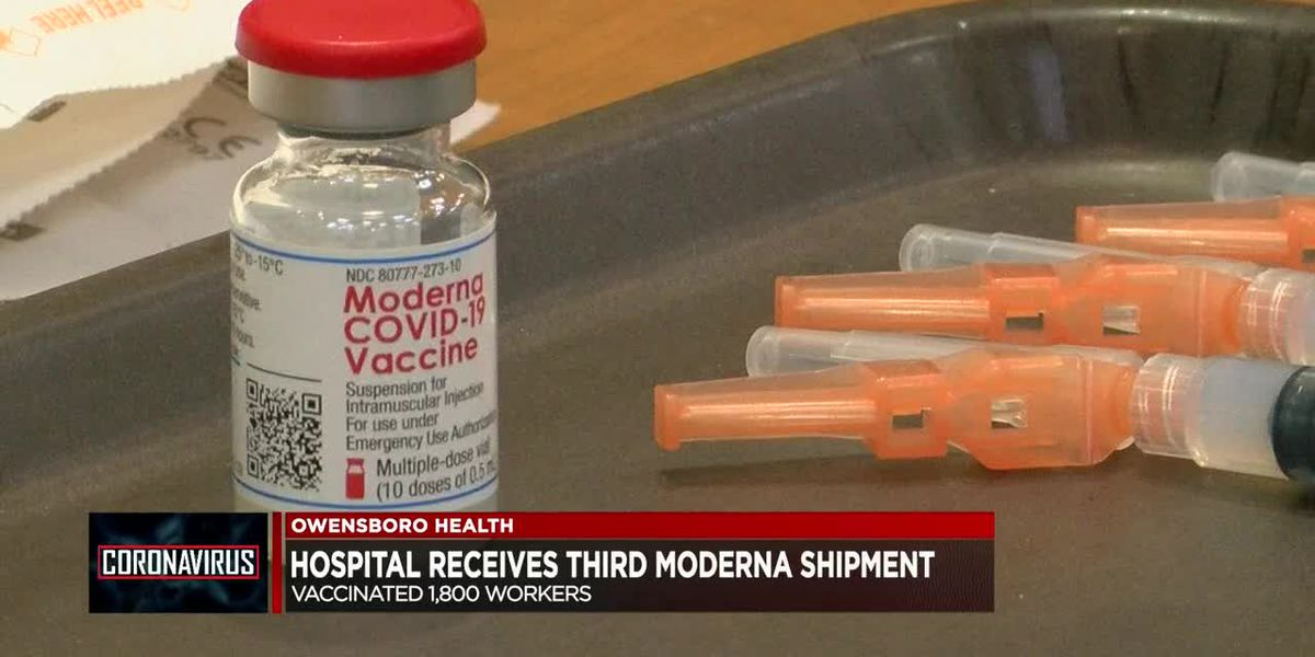 Owensboro Health receives third shipment of vaccines, 1,800 workers vaccinated