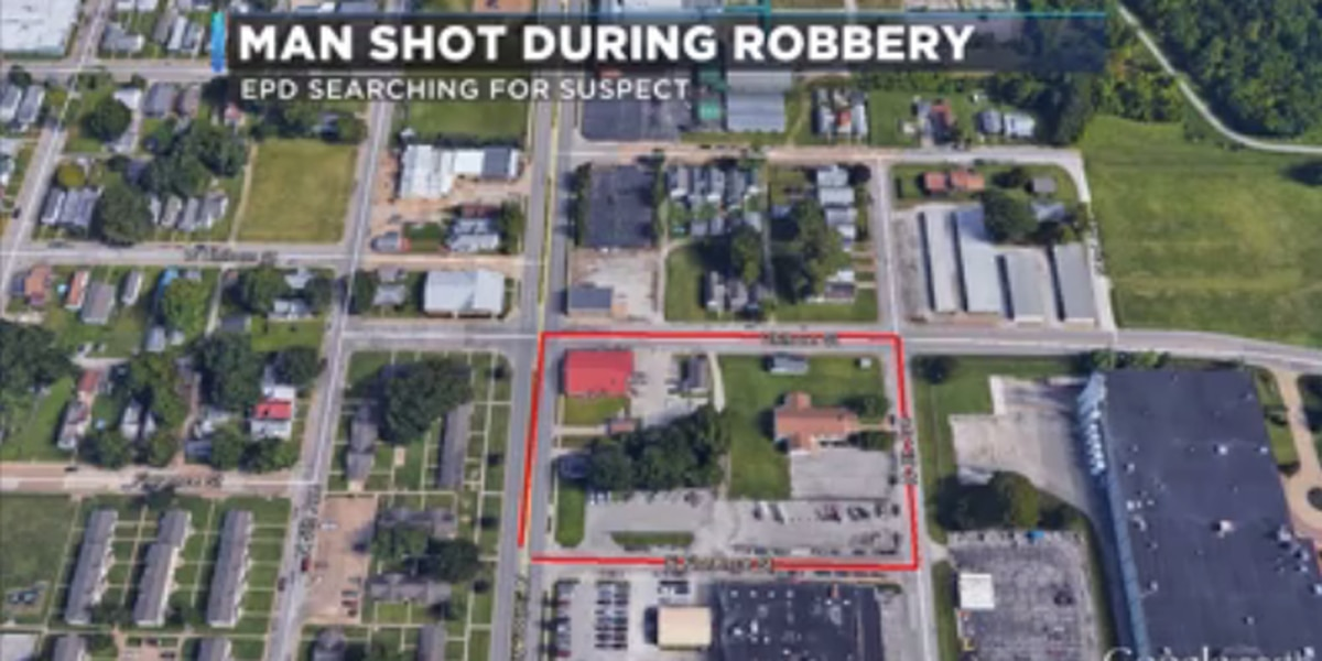 Man shot during armed robbery in Evansville