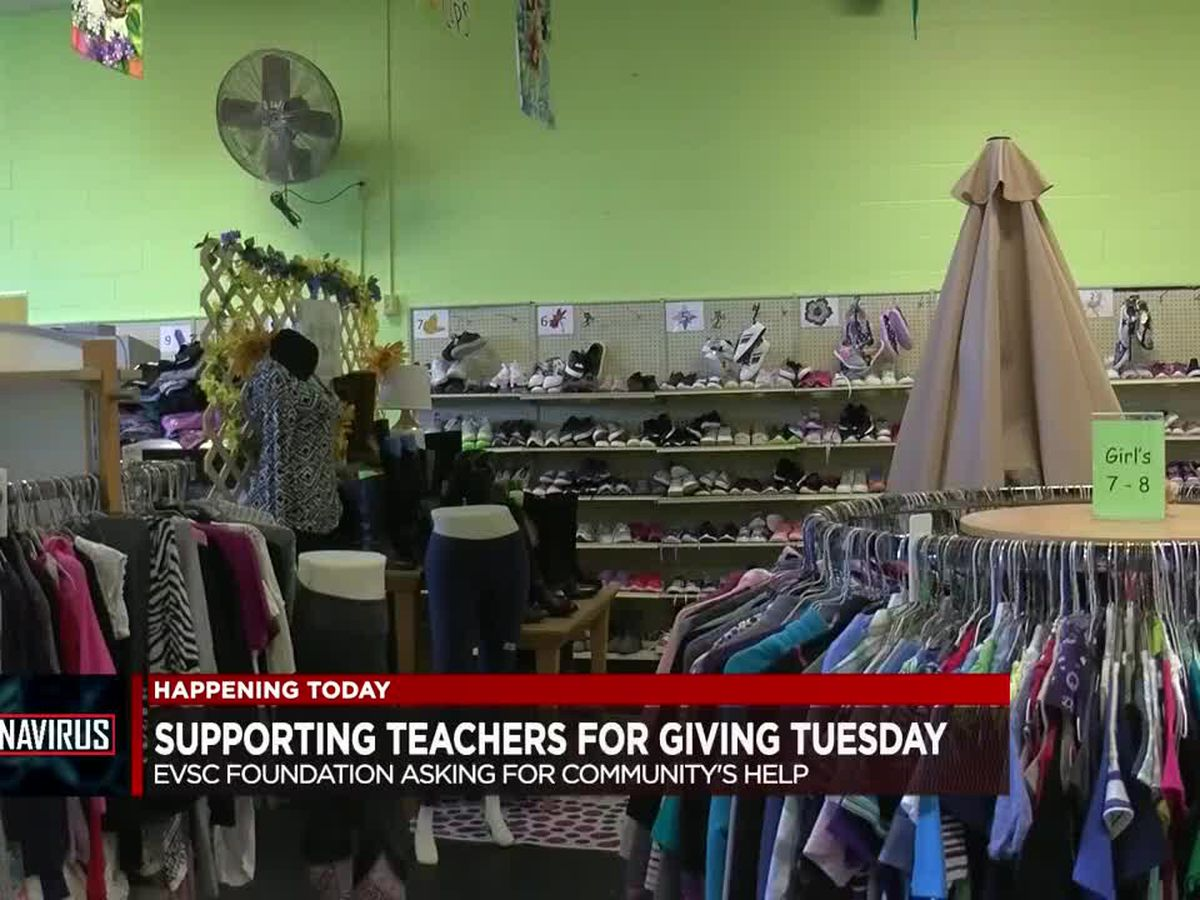 Supporting teachers for Giving Tuesday, EVSC Foundation asking for community's help