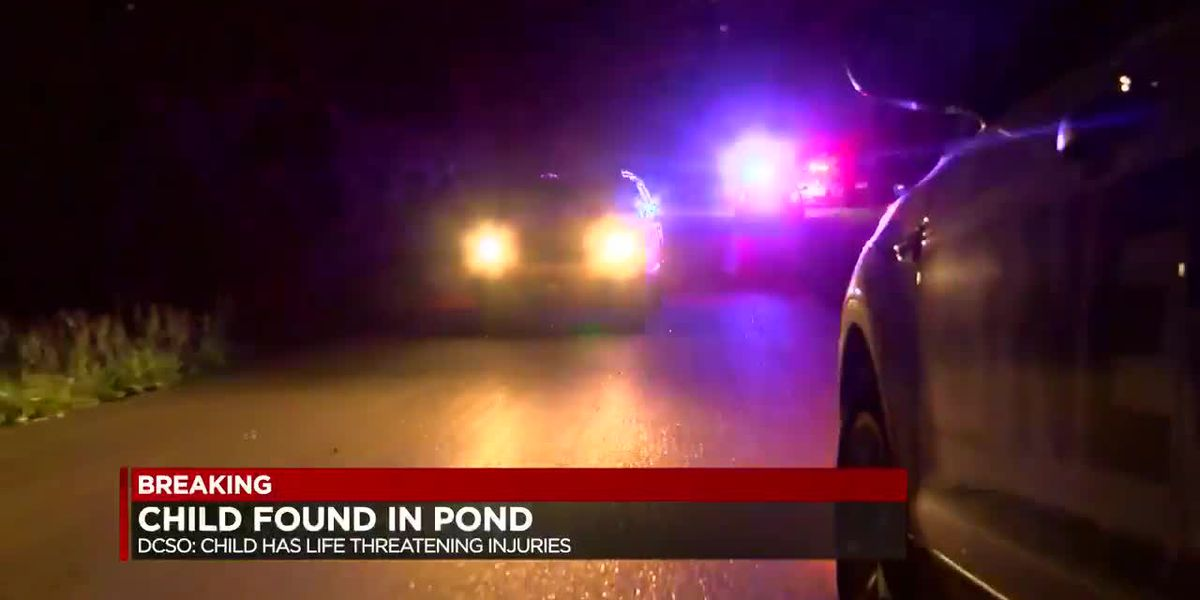 2-year-old found in pond dies in hospital