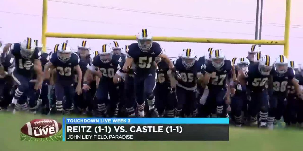 Touchdown Live Streaming Game of the Week: Reitz vs Castle