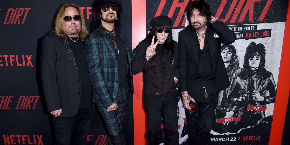 Mötley Crüe reunites, plans tour with Def Leppard and Poison