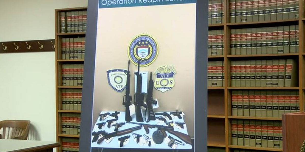 17 indicted on federal drug charges in connection to Grim Reapers raid