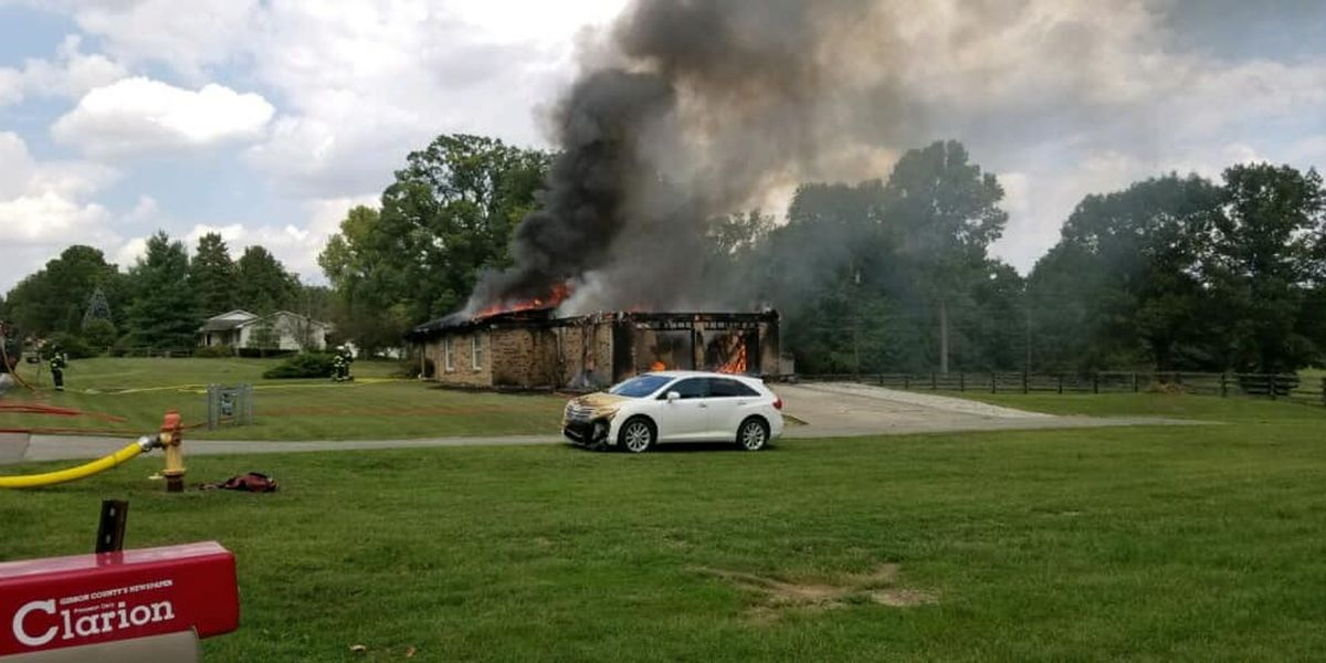 Princeton home destroyed by fire