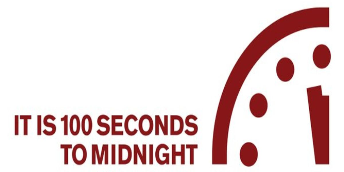 Doomsday Clock: It's closer to midnight than it's ever been