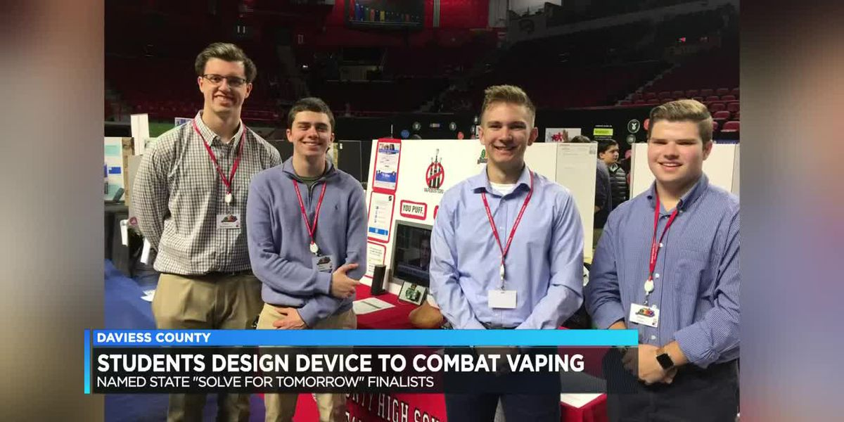 Daviess Co. students project hopes to keep teens from vaping
