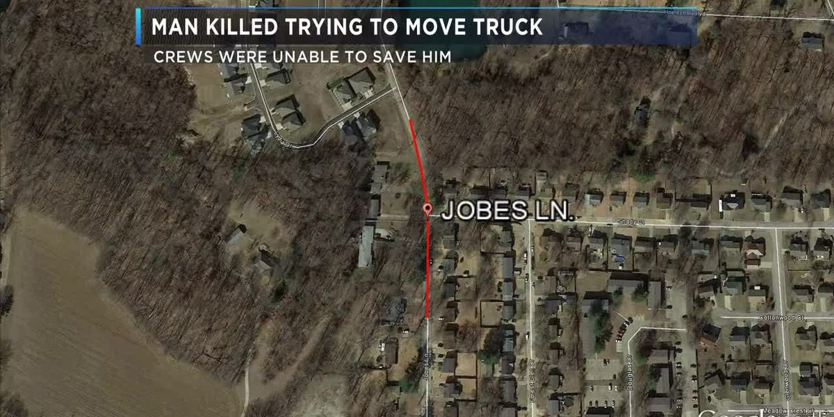 Name of man killed trying to move truck released