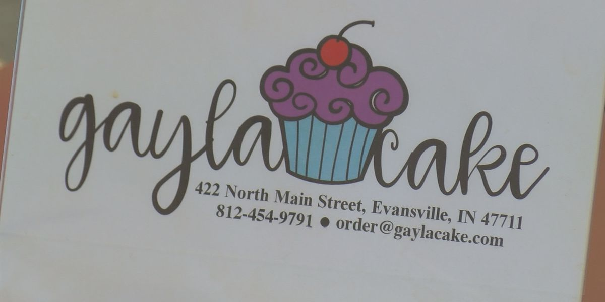 Gayla Cake reopens on Evansville's North Main Street