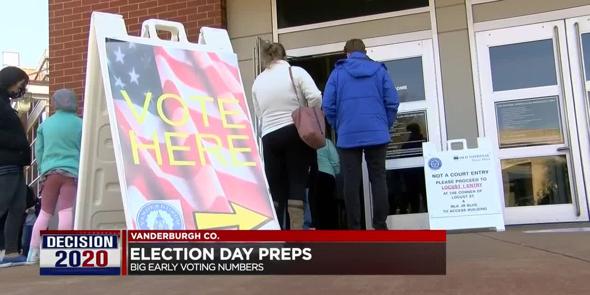 Election officials urge voters to be prepared for lines Tuesday despite high early voter turnout