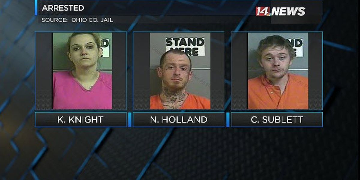 4 people arrested on drug trafficking charges in Ohio Co.