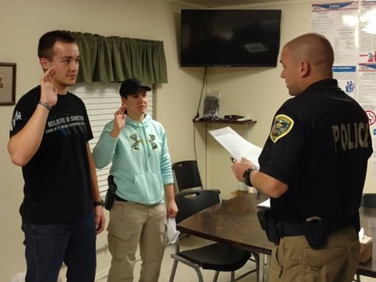 New reserve deputy marshals training in Gibson Co.