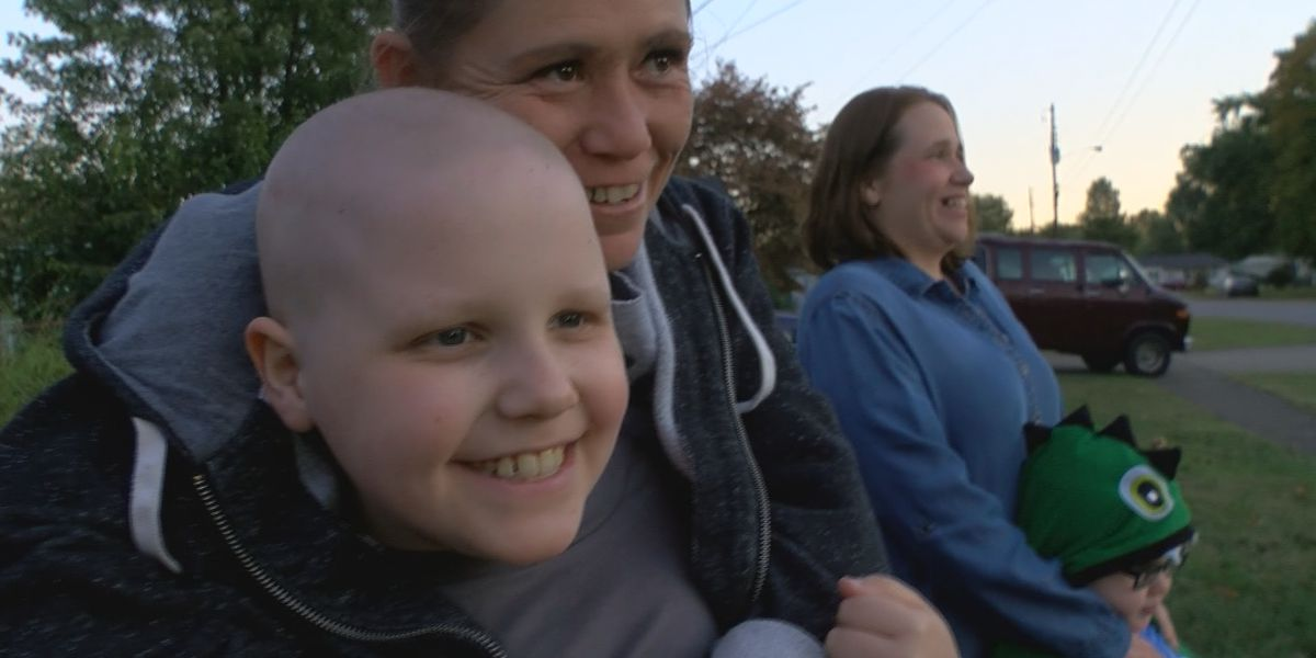Cancer in remission for Kentucky boy swarmed with birthday cards