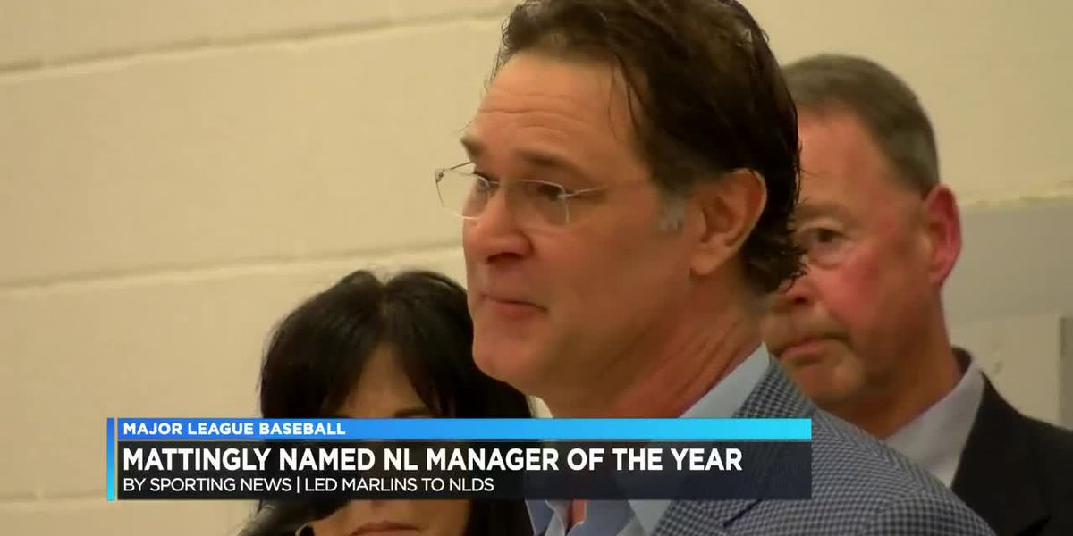 Mattingly named NL manager of the year