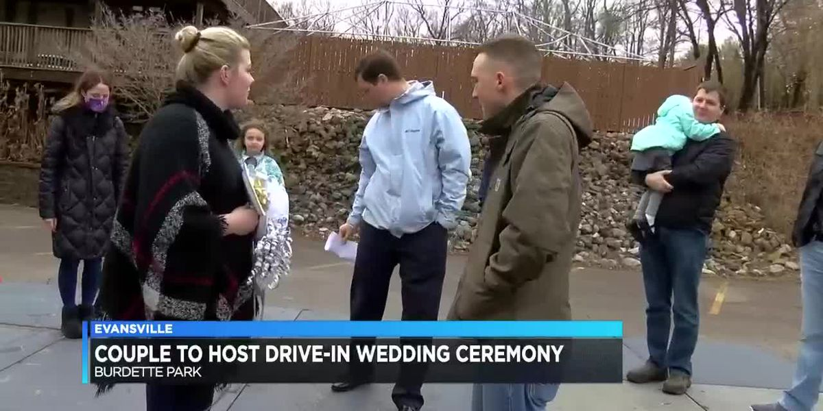 Evansville couple to host drive-in wedding ceremony