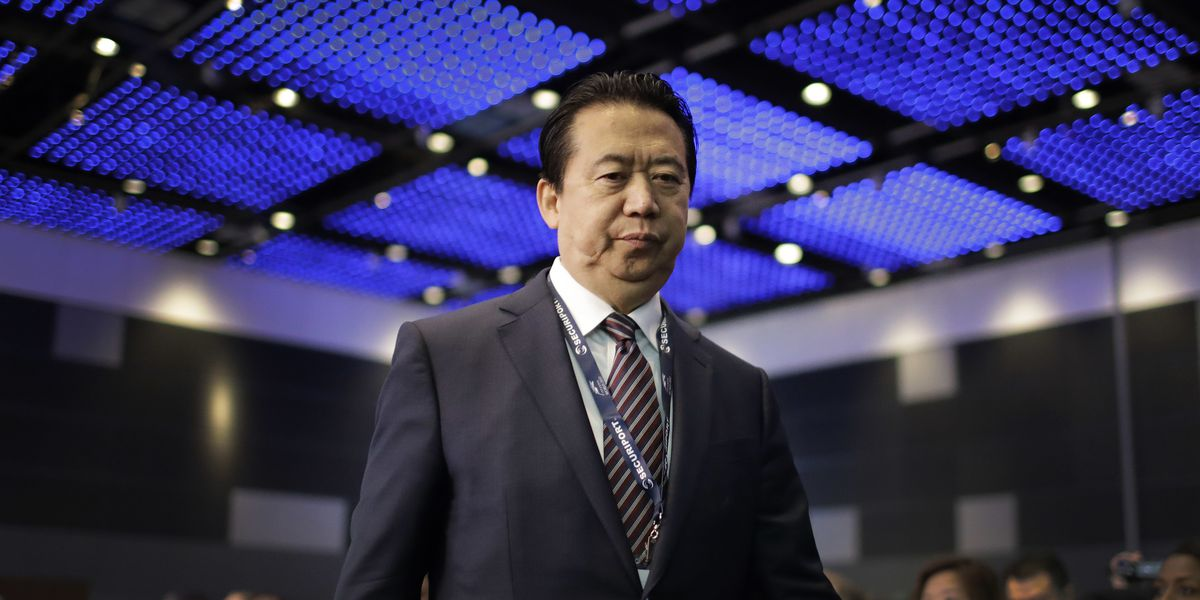 The Latest: Interpol aware officer is reported held in China