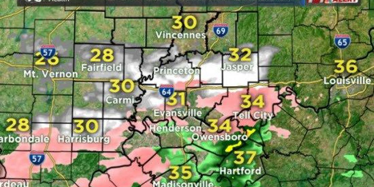 14 First Alert: Most falling precipitationto finish prior to morning commute