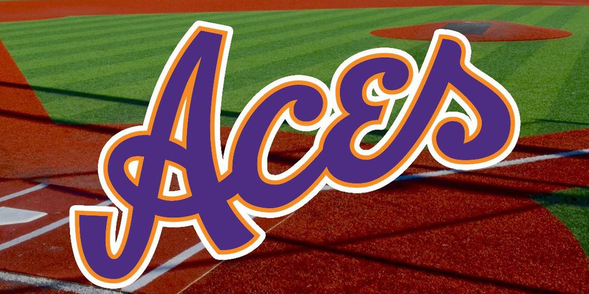Aces Baseball Can't get Bats Going down at Charleston