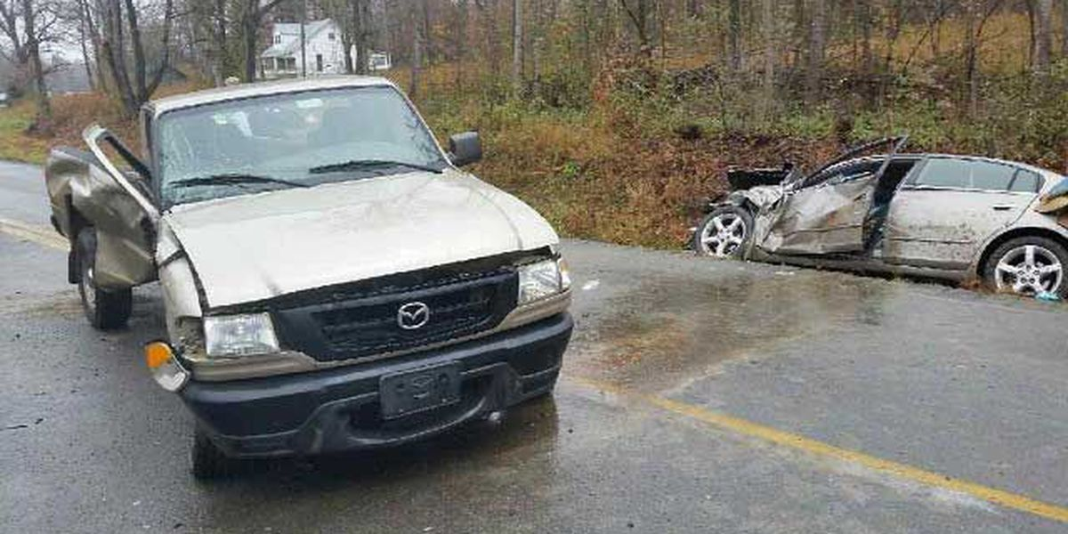 2 vehicle accident in Hopkins Co. sends one person to the hospital