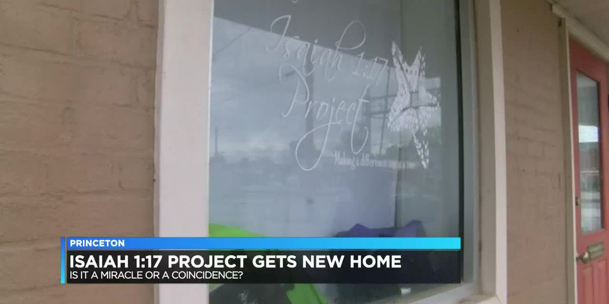 Isaiah 1:17 Project gets new home