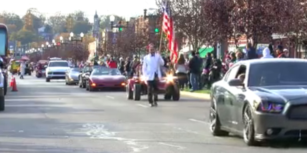 Vets honored during Four Freedoms Veterans Day Parade