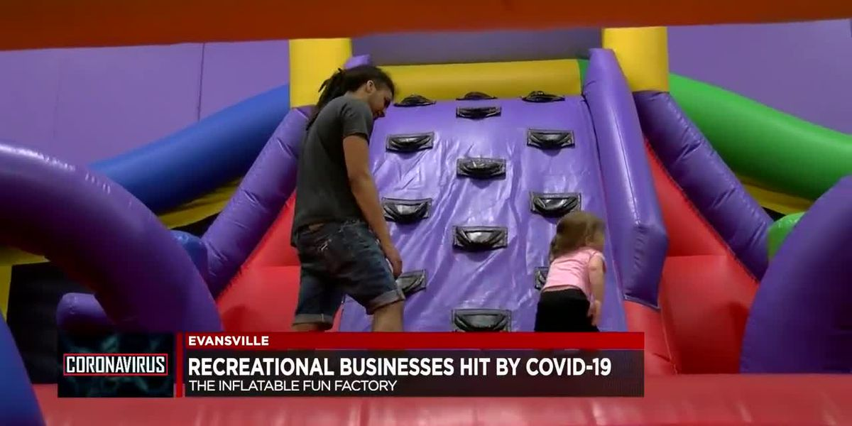 Evansville's Inflatable Fun Factory sees decline in customers despite reopening
