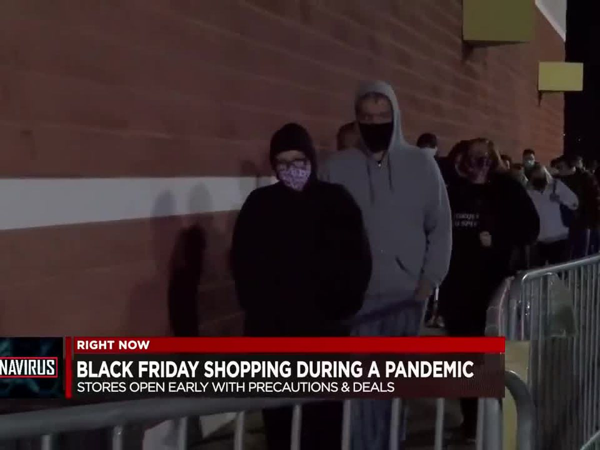 Black Friday shopping during a pandemic