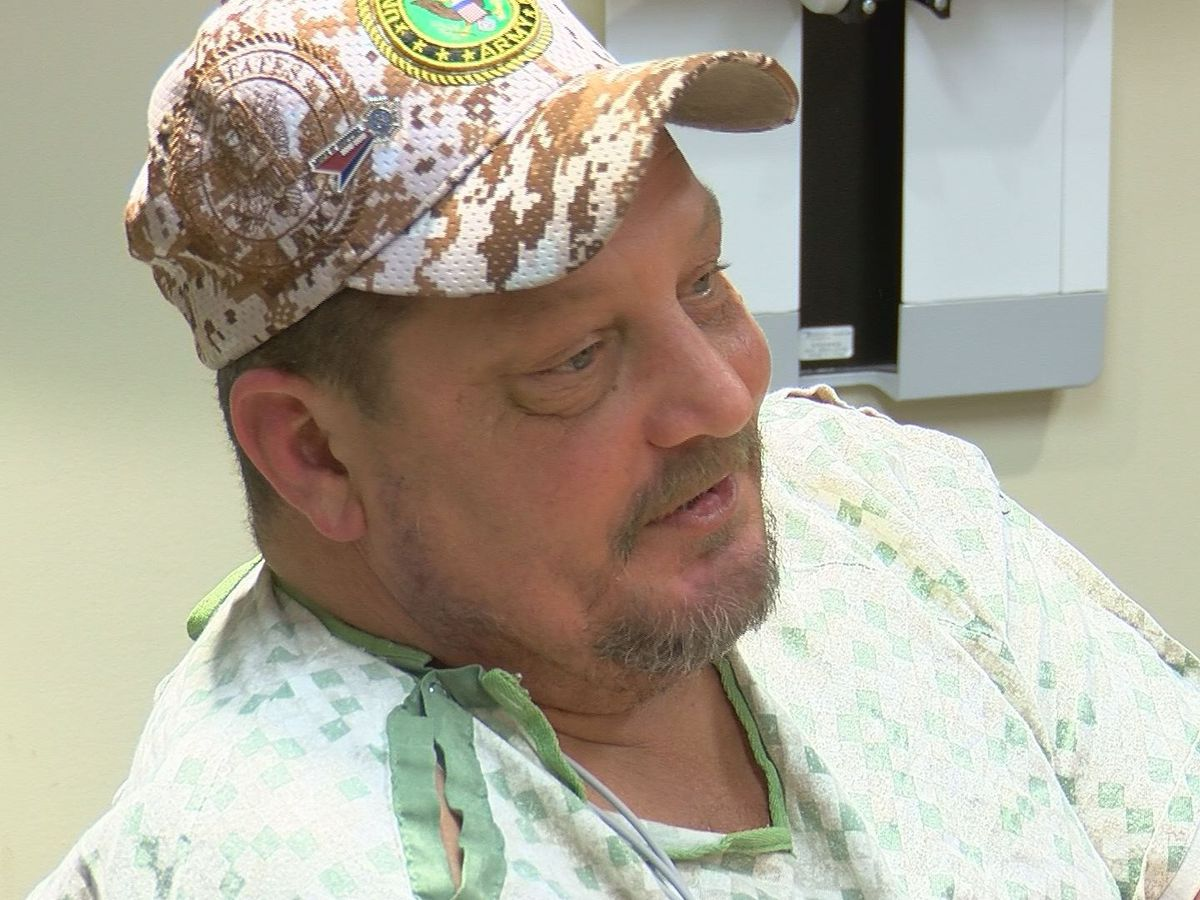 Exclusive: VFW shooting victim, wife speak out
