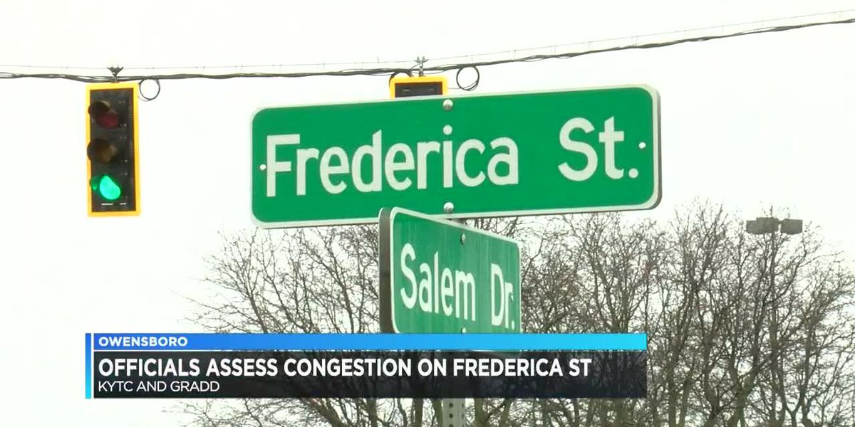 Officials assess congestions on Frederica St. in Owensboro