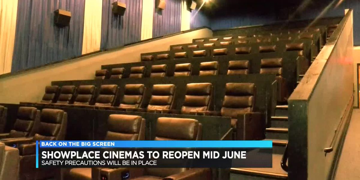 Showplace Cinemas announces reopening plan for all movie theater locations