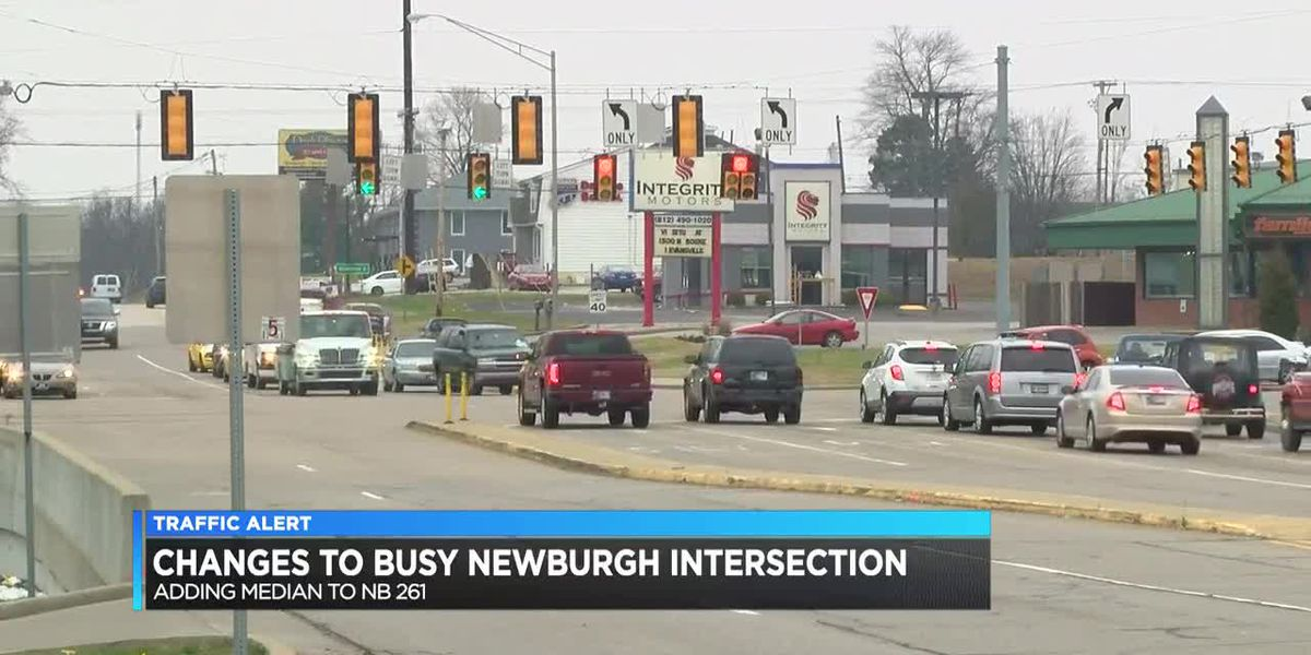Changes could be coming to busy Newburgh intersection