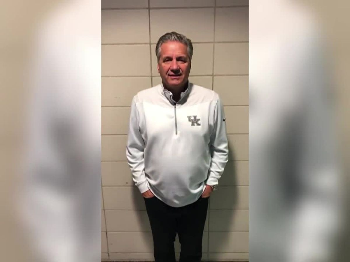 Evansville boy has new 'fan' in UK's Coach Cal