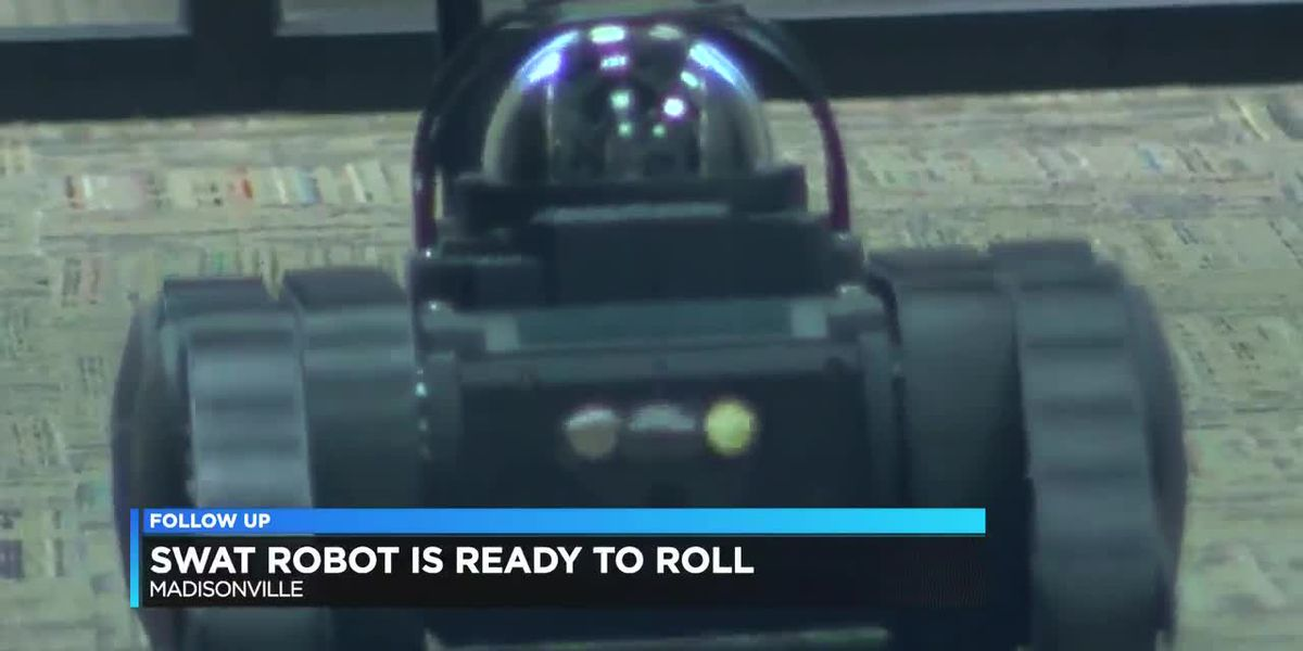 Madisonville police SWAT robot ready to roll out