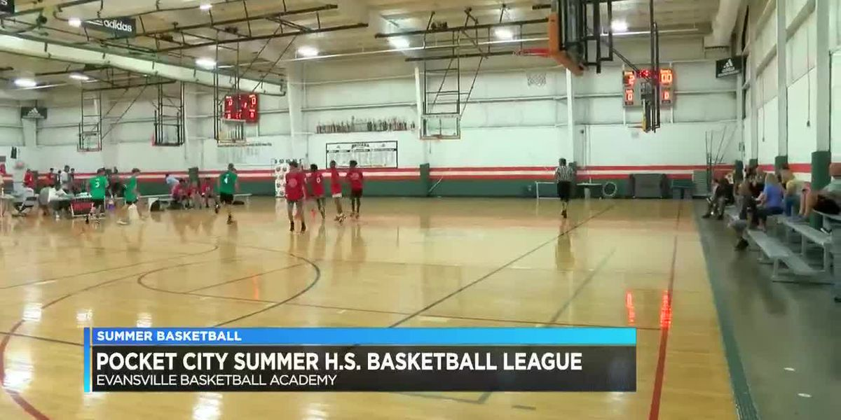 Local high school players resume play in Pocket City Basketball summer league