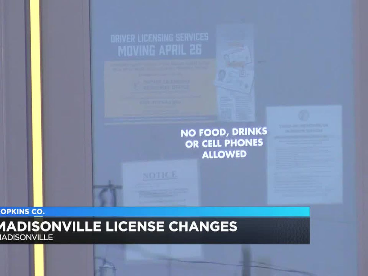 Changes coming for residents renewing their driver's license in Hopkins Co.